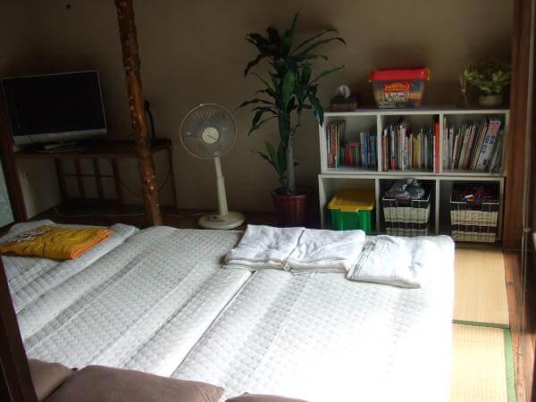 寝室のレイアウト