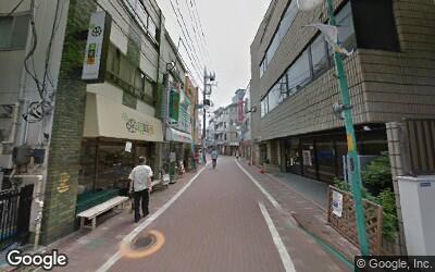 個人経営のお店が立ち並ぶ下丸子駅の商店街