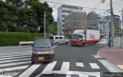 下丸子駅北口側交差点