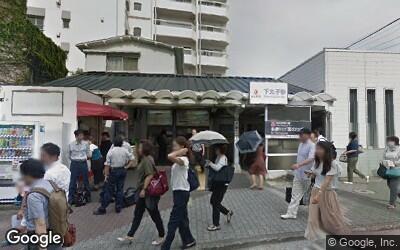 下丸子駅南側の風景