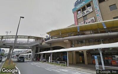 中央口前のバスターミナル