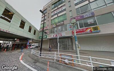 大和駅前のセリア