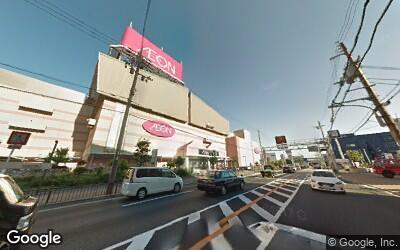 茨木駅付近のイオンモール