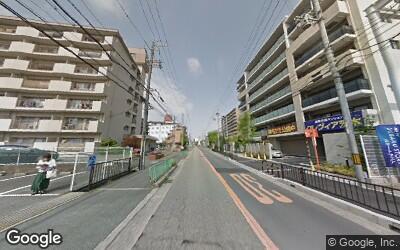 茨木駅付近の低層マンション