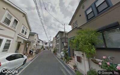 茨木駅周辺の戸建て街
