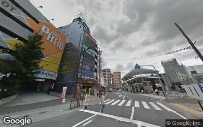 茨木駅東口前のパチンコ店