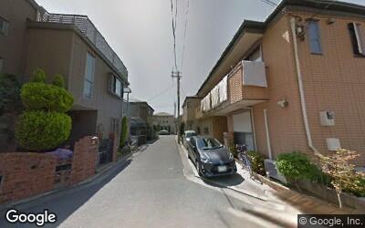 茨木駅東口周辺の戸建て街