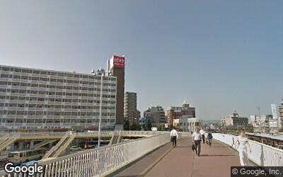 茨木駅西口から続く歩道橋