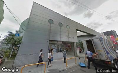 荏原中延駅の外観