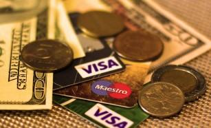 紙幣と硬貨とクレジットカード