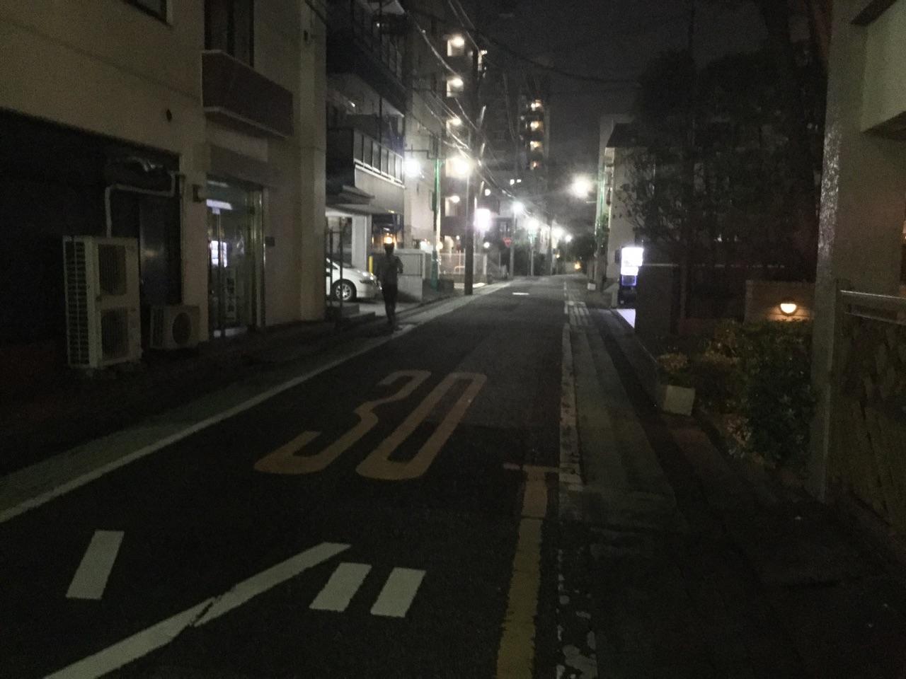 埼玉県道110号線一本入ったところの住宅街