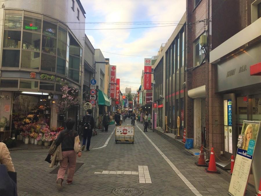 高円寺の風景