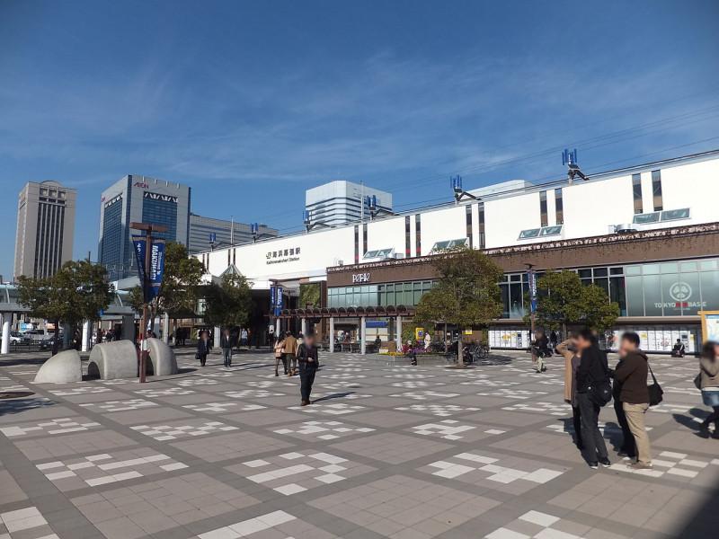 海浜駅の街並み