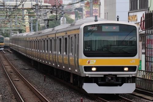 総武線の電車