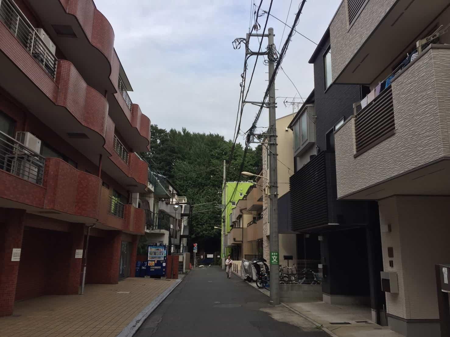千駄ヶ谷駅 新宿御苑横の住宅街