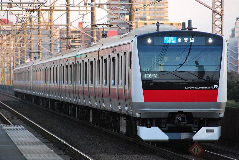 京葉線の車両