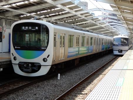 西武新宿線・フリー素材