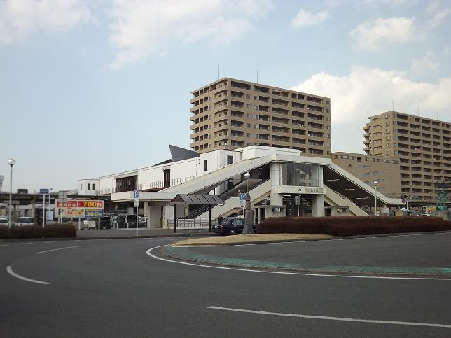 佐倉駅南口前の様子