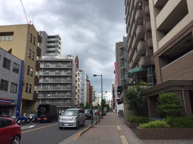 駅近くのマンション