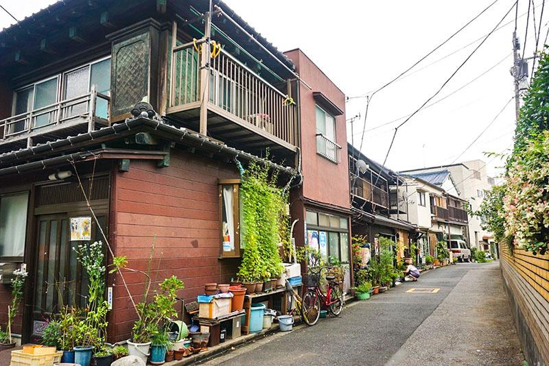 白鬚神社横の住宅