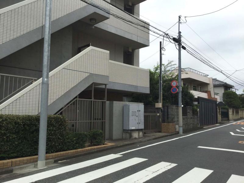 氷川台駅周辺の住宅街1