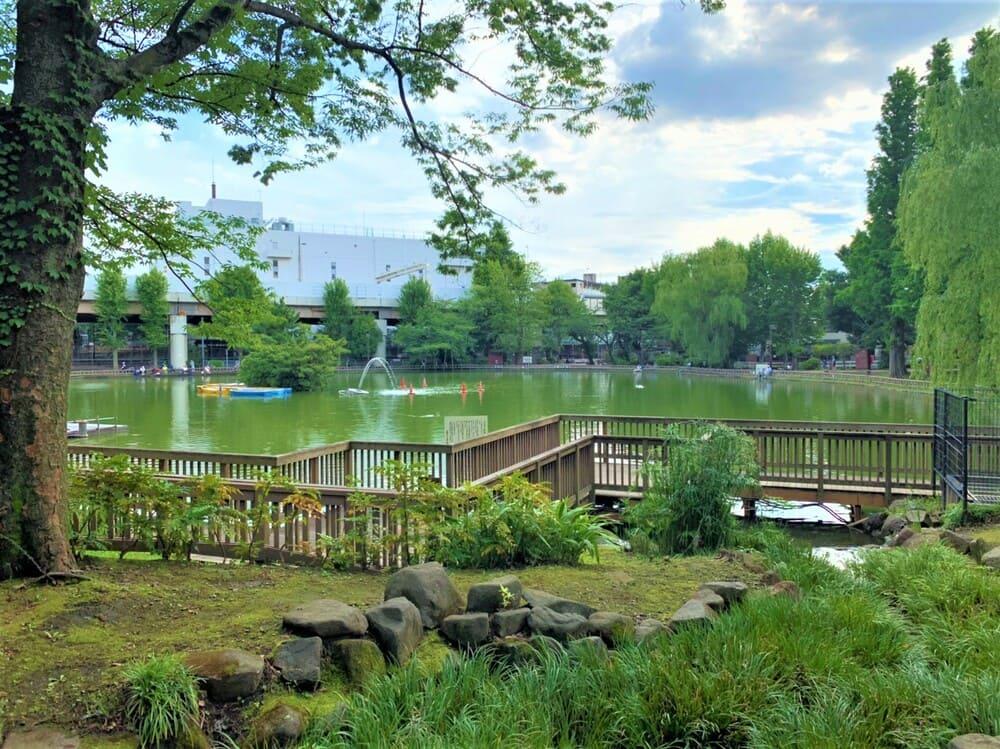 見次公園の風景