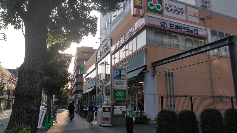 富士見街道沿い
