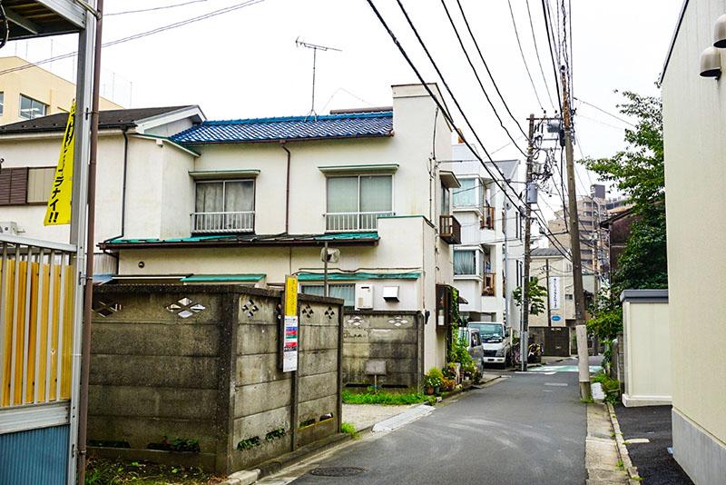 東向島駅周辺の住宅