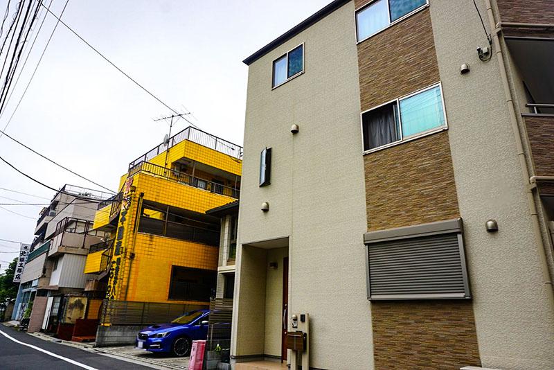 墨田川高校前の住宅