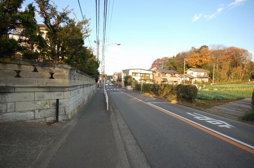 片倉町の街並み