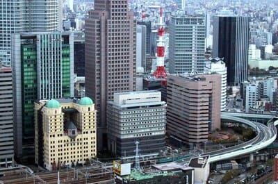 梅田駅周辺の風景