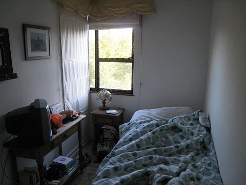 4畳しかない狭いお部屋のレイアウト