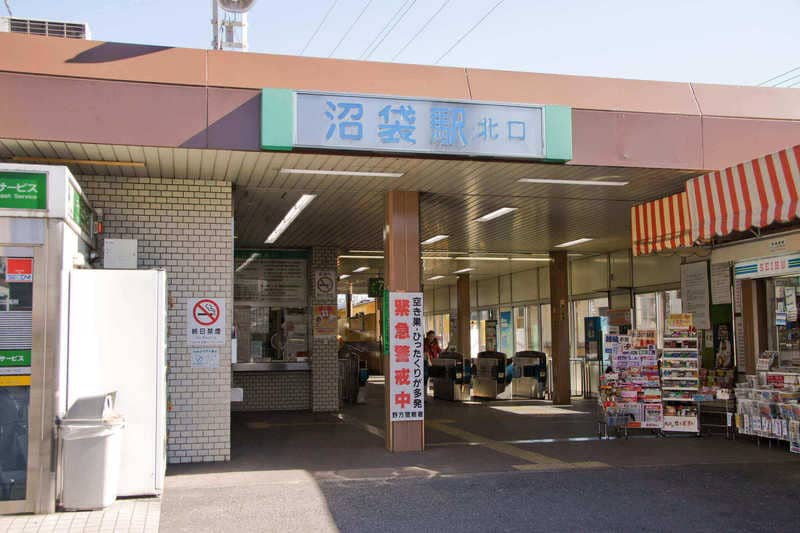 """沼袋駅周辺の街並み"""""""