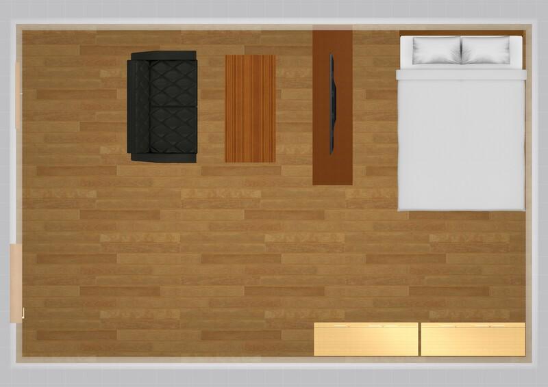 35平米の家具配置シミュレーション