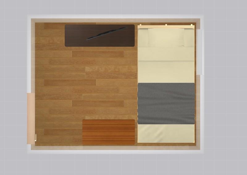 10平米の家具配置シミュレーション