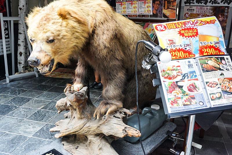 クマの置物の写真