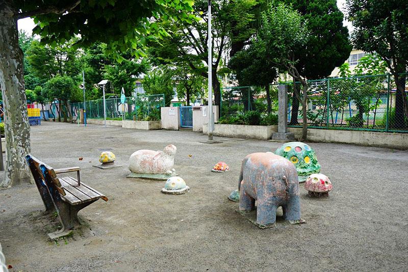 横川公園の遊具