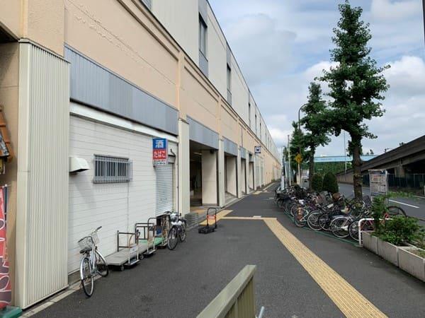 西高島平駅前の風景