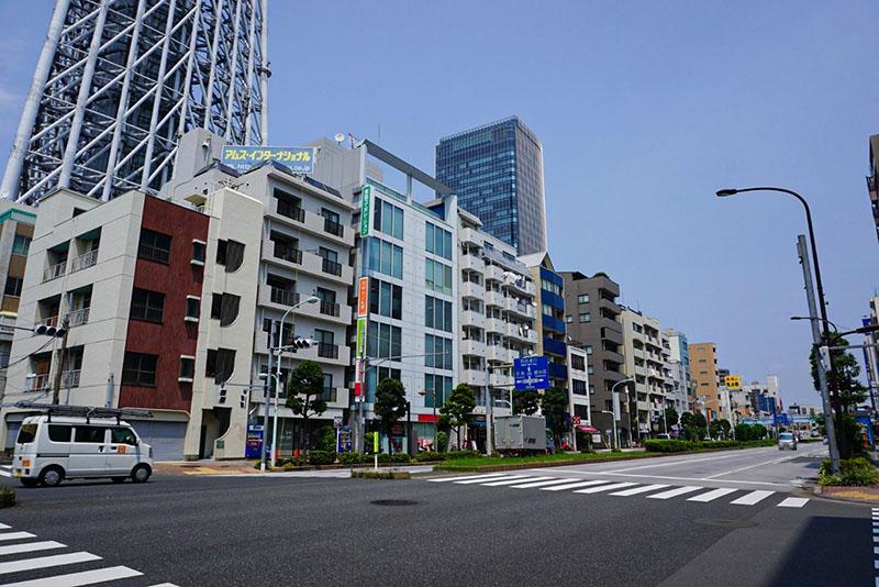 浅草通りの住宅