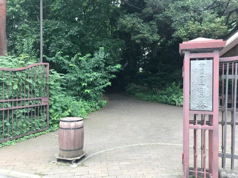 目白の森入り口