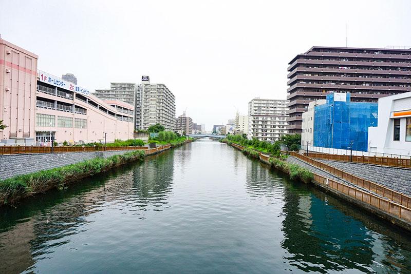 小名木川の橋