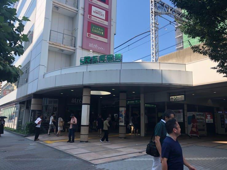 五反田駅西口駅前