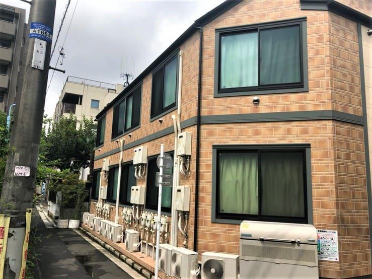 駅北側の住宅2