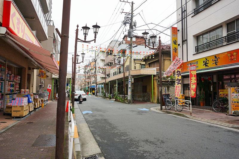 住吉銀座商店街の風景