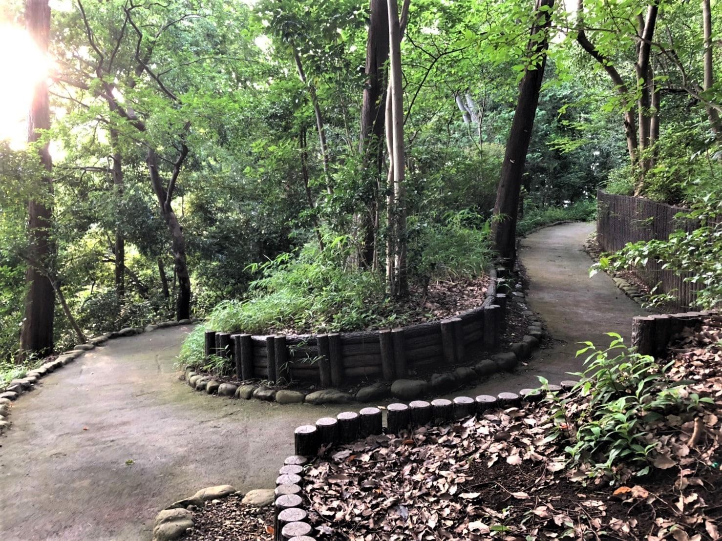 哲学堂庭園