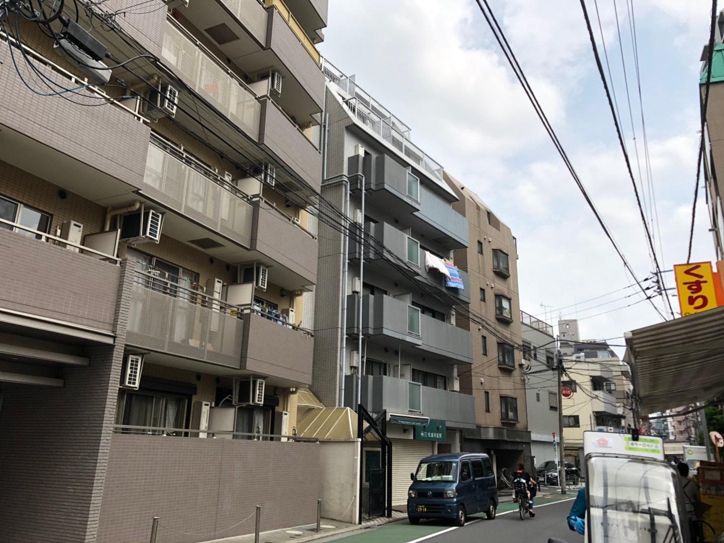 板橋本町北東の集合マンション