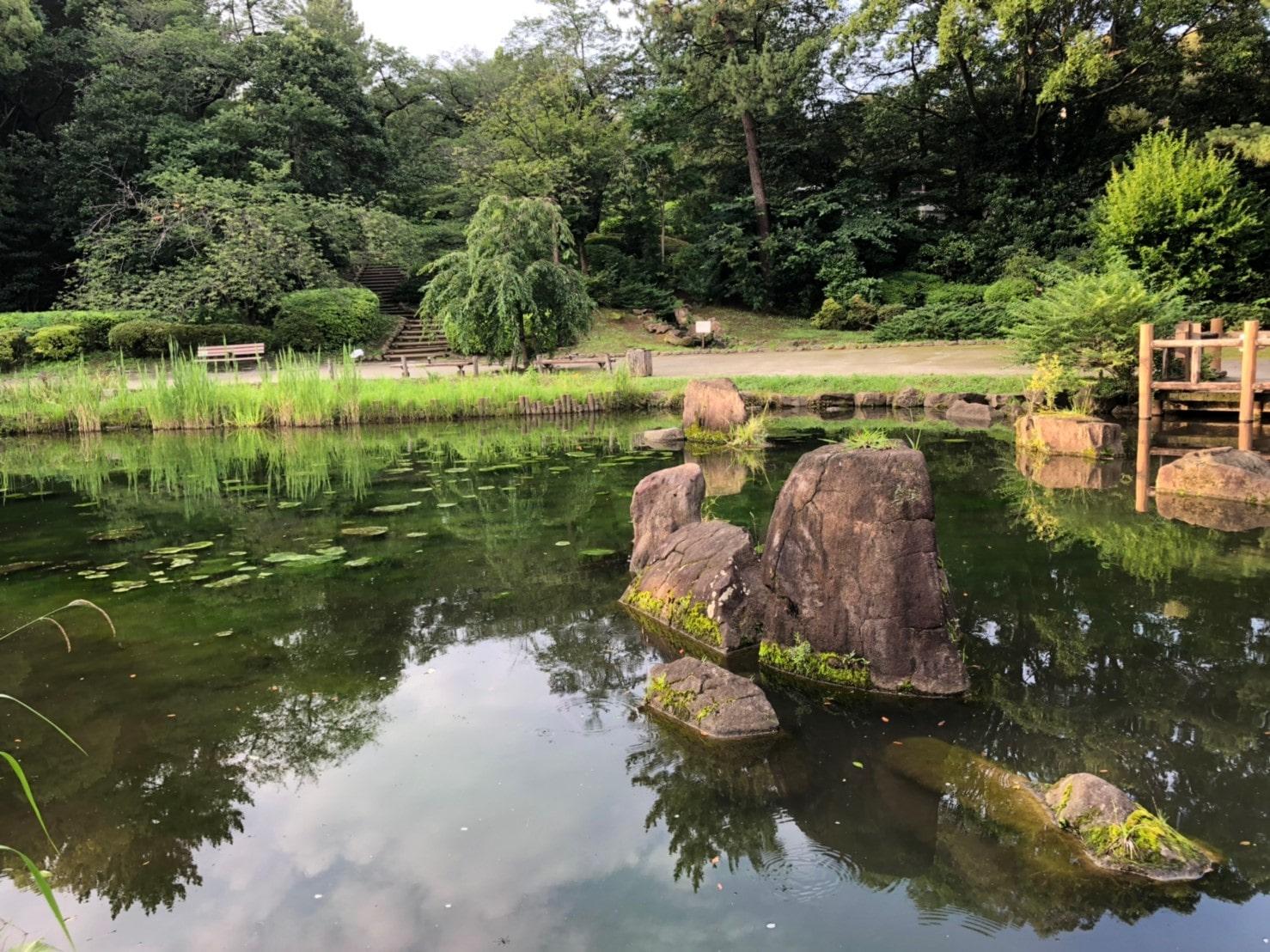 哲学堂の庭園