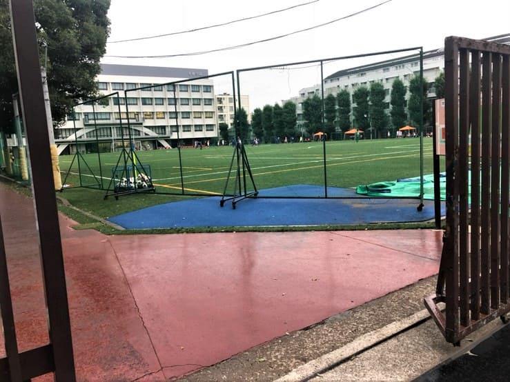 小学校のグラウンド