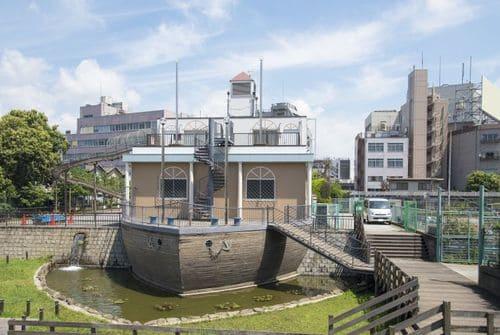 大横川親水公園の外観