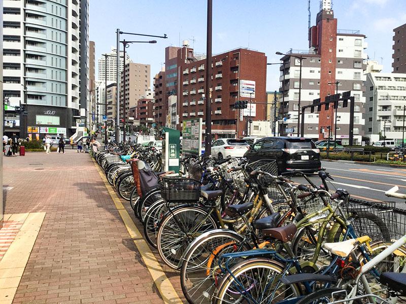 要町駅前の景色